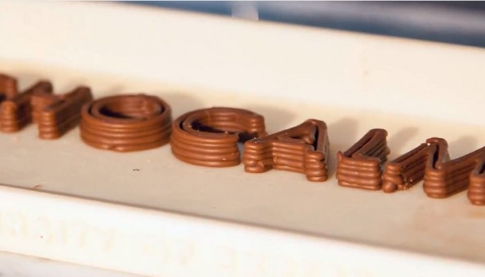 impersora 3d chocolate