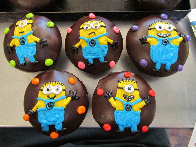 pastelitos minion