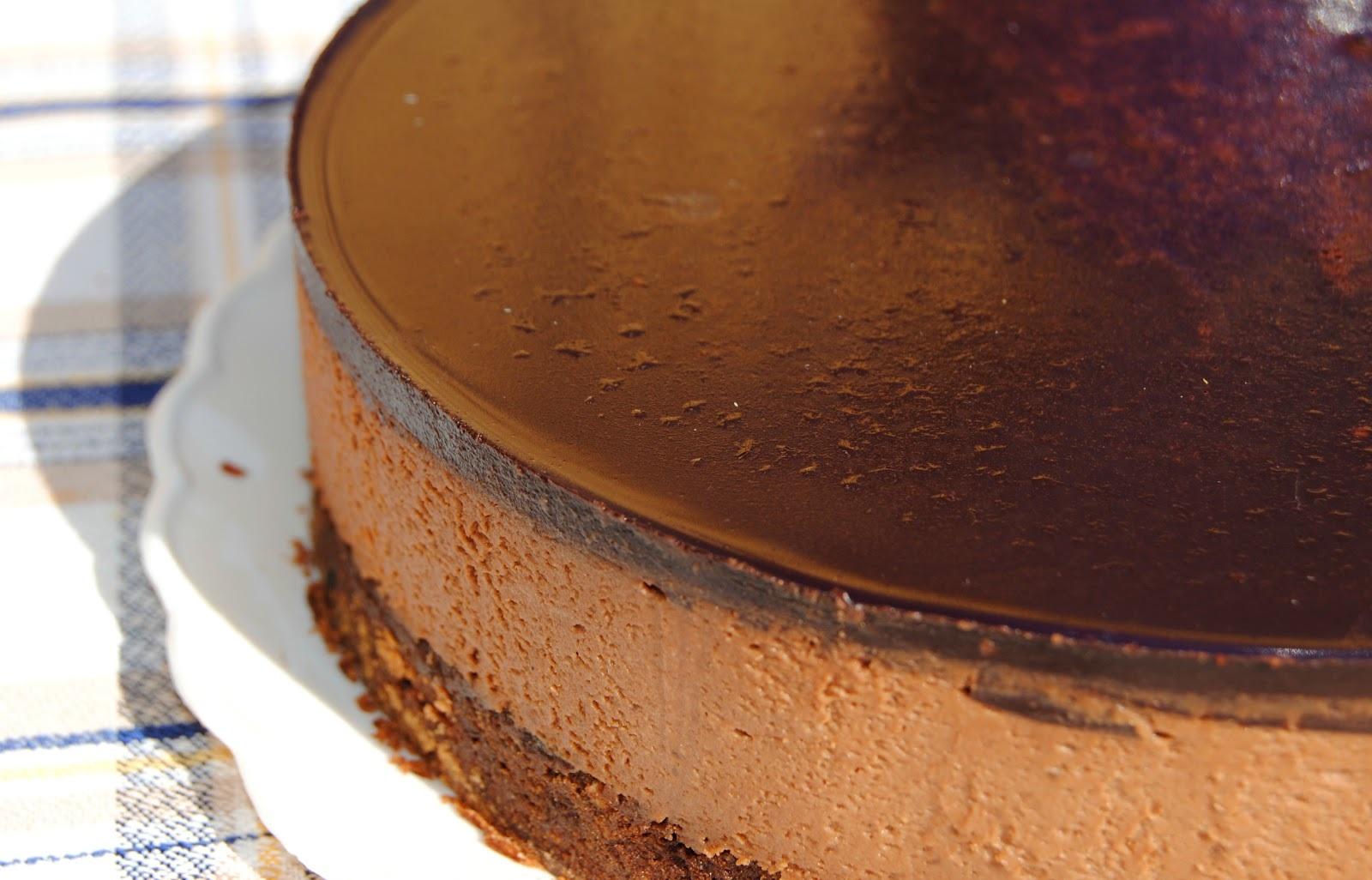 tarta mousse chocolate