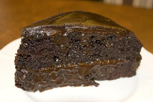 bizcocho chocolate negro
