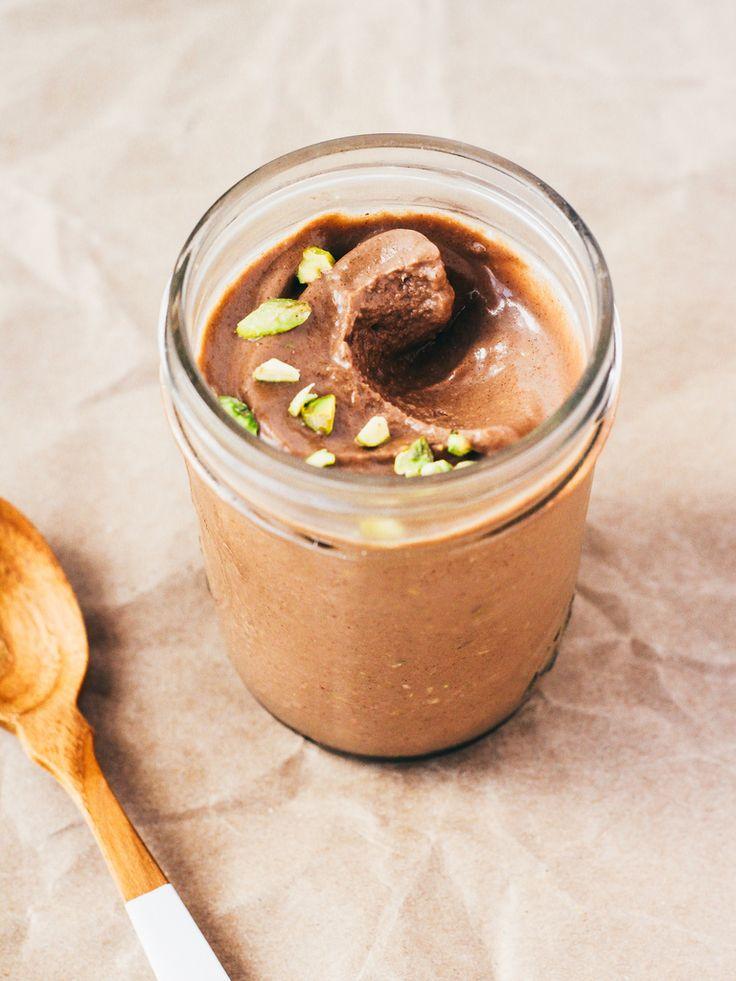 crema chocolate pistachos