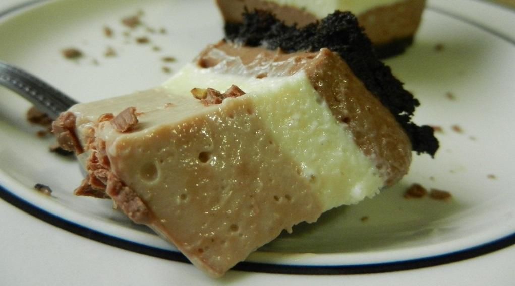 Triple Chocolate Cheesecake con Oreo