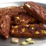 Galletas de chocolate y pistachos