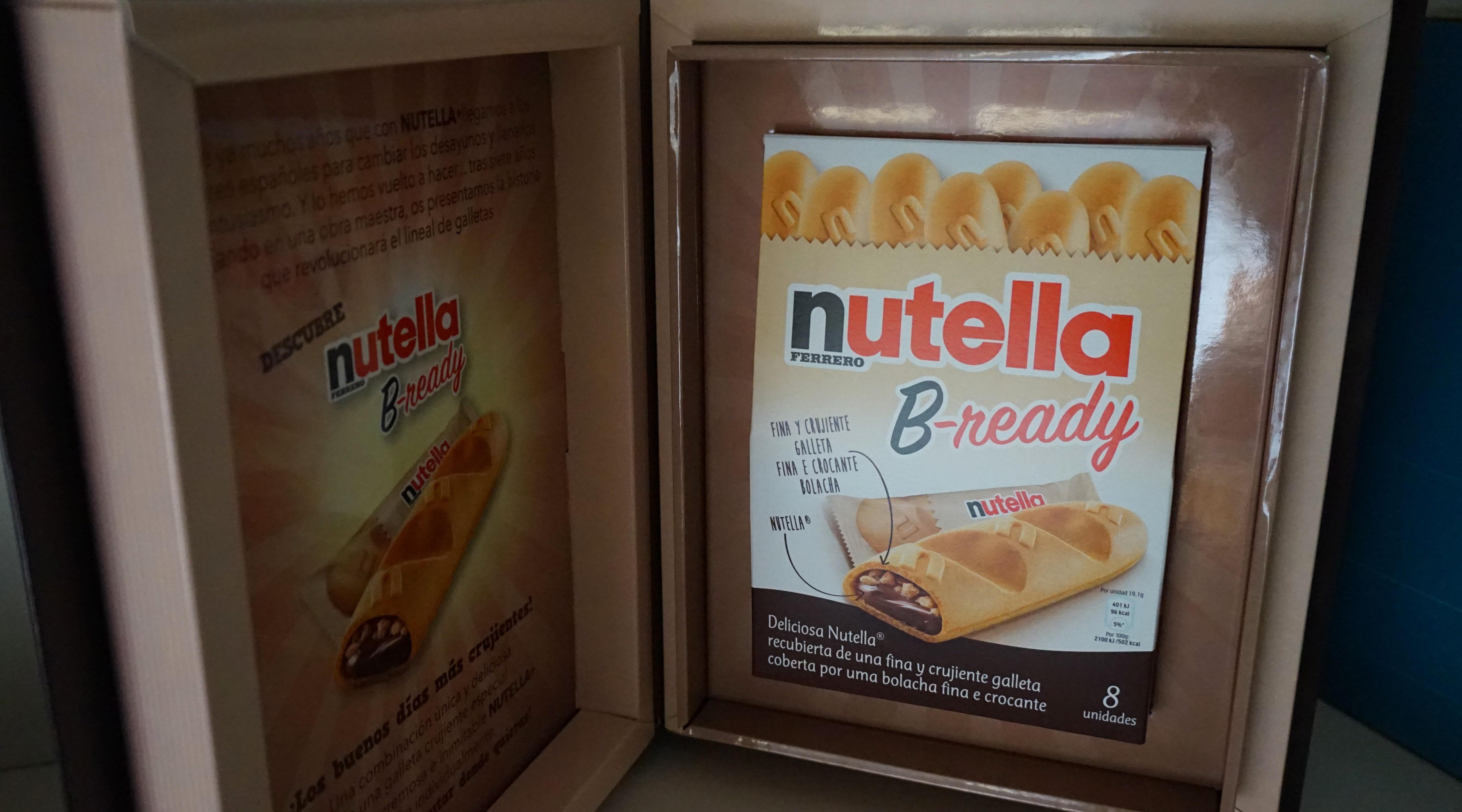 b ready nutella ferrero