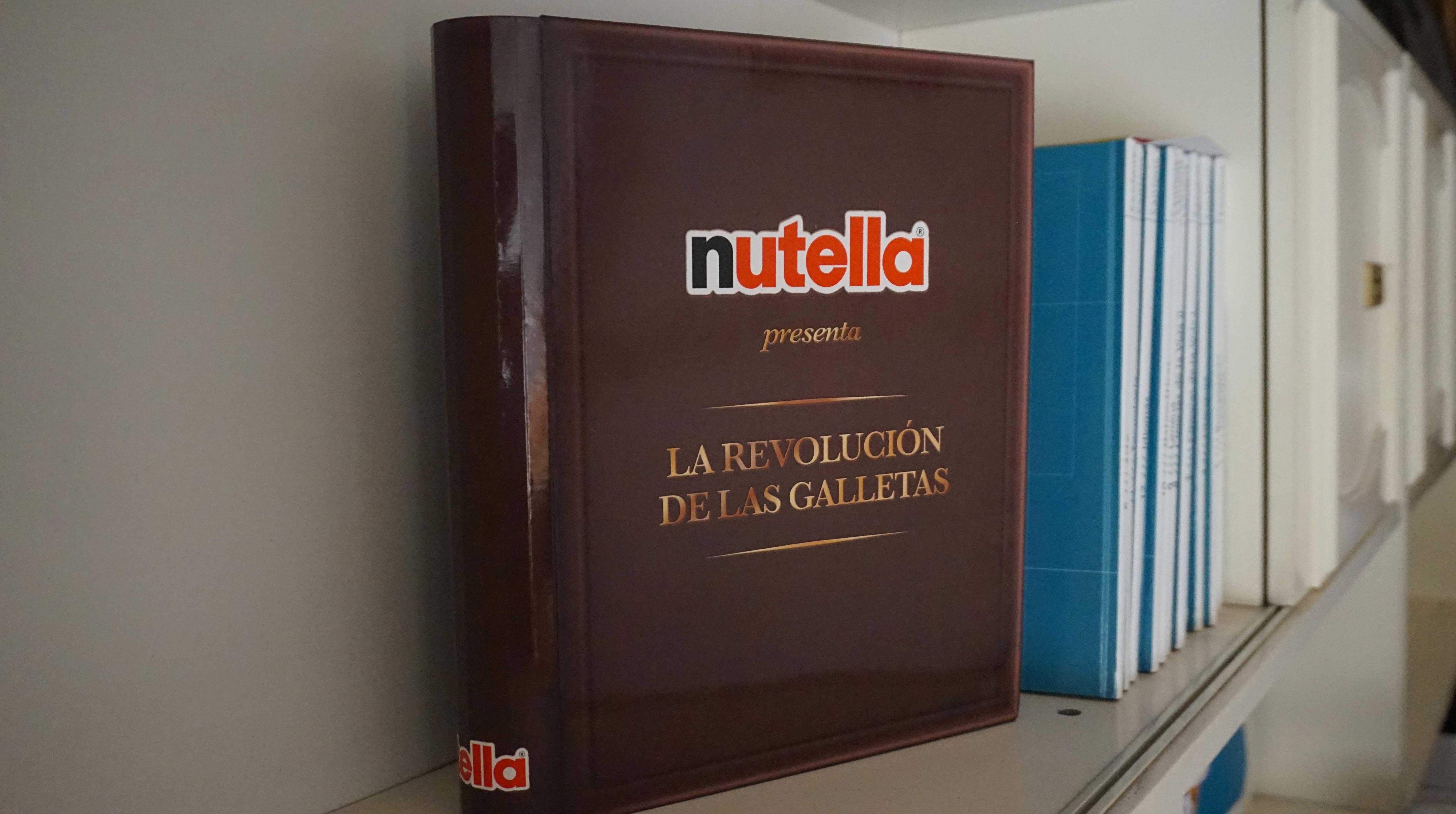 nutella-snack galleta